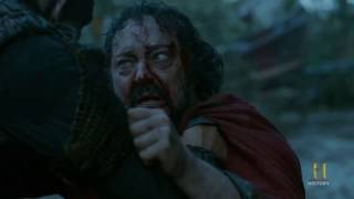 Vikings - King Aelle's Death Blood Eagle / Ending Scene [Season 4B Official Scene] (4x18) [HD]