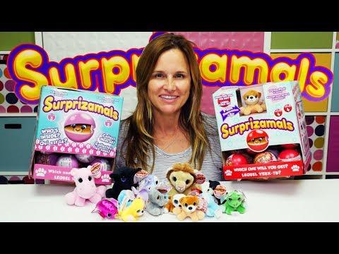 Surprizamals Super Unboxing Series 2, 3 & 4 Pet Animal Wackys Surprise Ball Full Case
