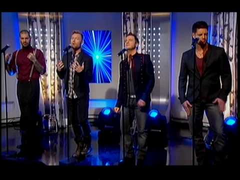 Boyzone performing 'Gave It All Away' on This Morning - 2nd March 2010