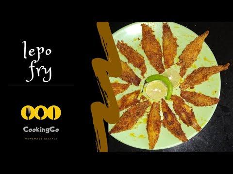 HomeMade Goan Style Crispy Lepo Rava Fry | Sole Fish Fry | Goan Cuisine | CookingGo |