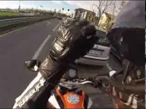 Ktm Duke 125 & Aprilia Rs 125 | Turin Ride