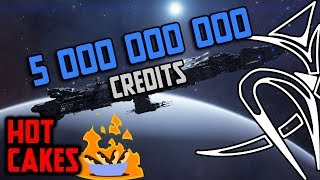 Fleet carriers will cost 5 000 000 000 credits (Hotcakes)[Elite Dangerous]