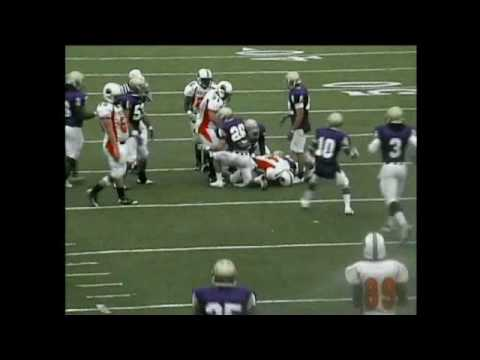 Sean McCormick #53 - DE/OLB - Bethel University - Fall 2009