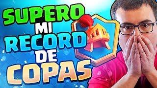 HAGO MI RECORD DE COPAS ¡¡POR FIN 6000 COPAS!! | Clash Royale