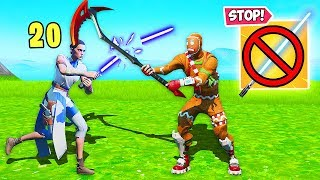 *NEW TRICK* CUT THROUGH LIGHTSABERS!!  - Fortnite Funny Fails and WTF Moments! #776