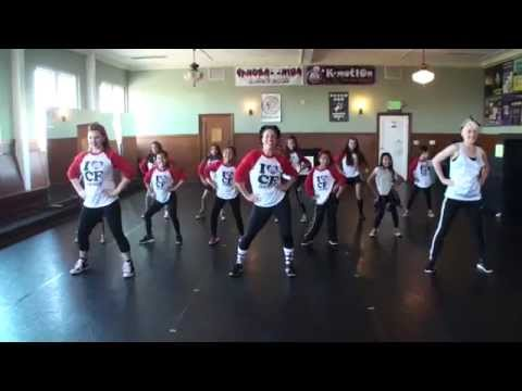 "CF Dance Academy's ""Move More, Eat Healthy"" Dance"