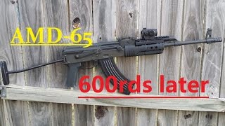 AMD-65 600 rounds Review ak47