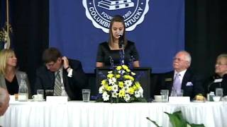 Molly Atkinson - Founders Day 2010 - Lindsey Wilson College