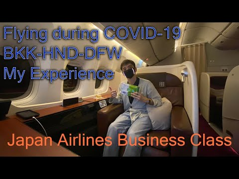 Japan Airlines Business Class During Covid-19 | My Experience