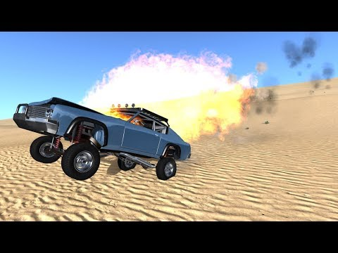 BeamNG.drive - The Offroad Barstow