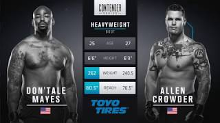 FREE FIGHT | Crowder Drops Vicious Elbows | DWTNCS Week 8 Contract Winner