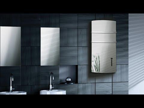 Glass Towel Warmer │ Deva By Radialight