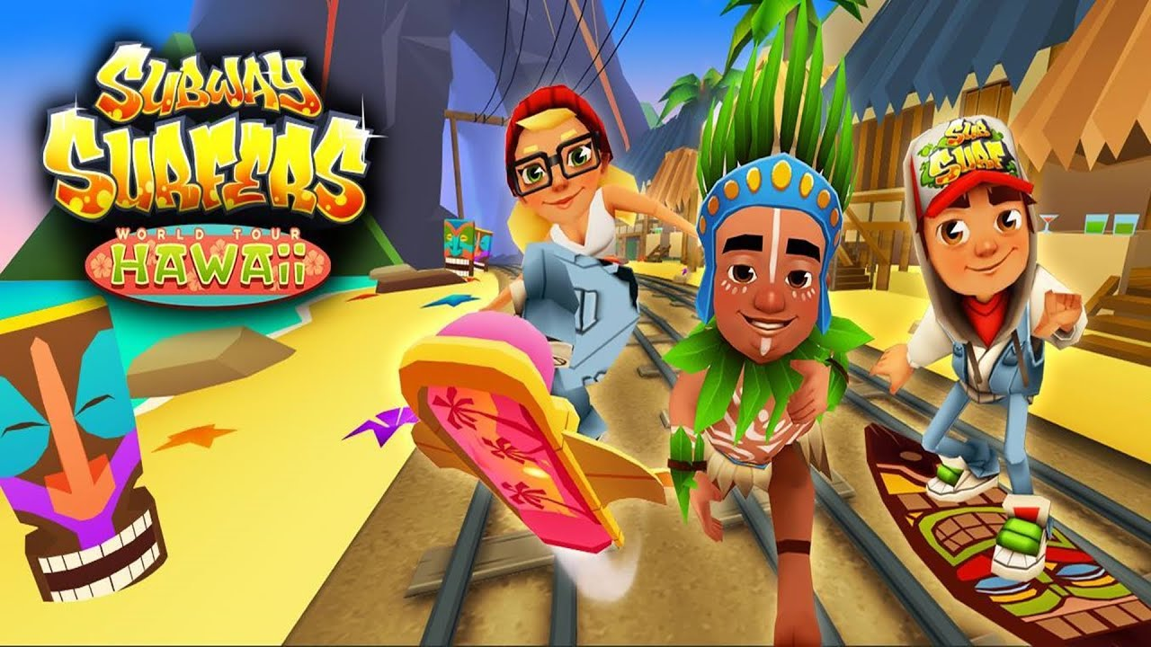 subway surfers hawaii sony xperia z2 gameplay youtube