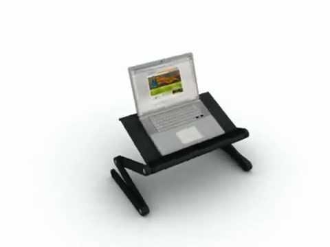 Дубовый столик для ноутбука своими руками - YouTube