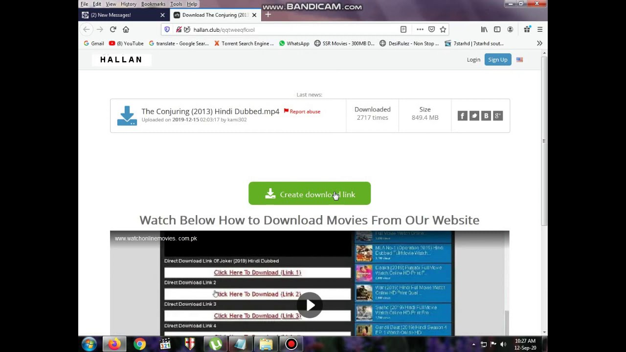 Download HOW TO DOWNLOAD The Conjuring HINDI DUBBED MP4.IN JUST 3 STEPS. YOUTUBE