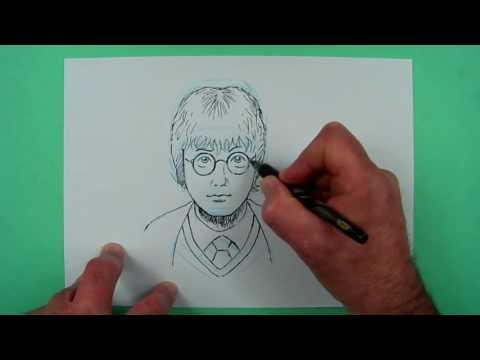 Wie Zeichnet Man Harry Potter Zeichnen Für Kinder Youtube