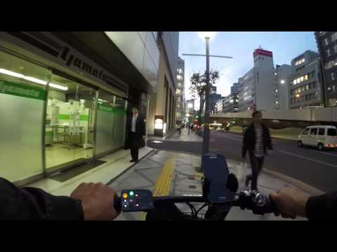Cycling in Osaka : Amijimachō _ Tenma _ 天満橋筋 _ Minamimorimachi _ Sonezakishinchi