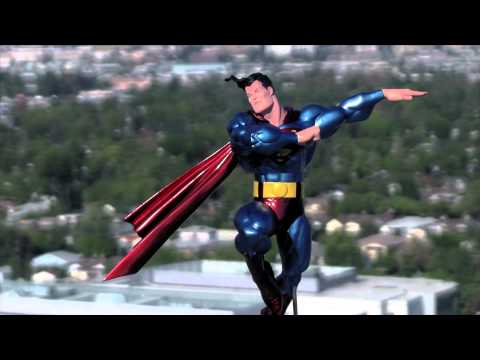 DC Collectibles - The All New Metallic Superman by Frank Miller Statue