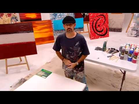 LEARN TO PAINT-Art lessons ,abstract modern contemporary art