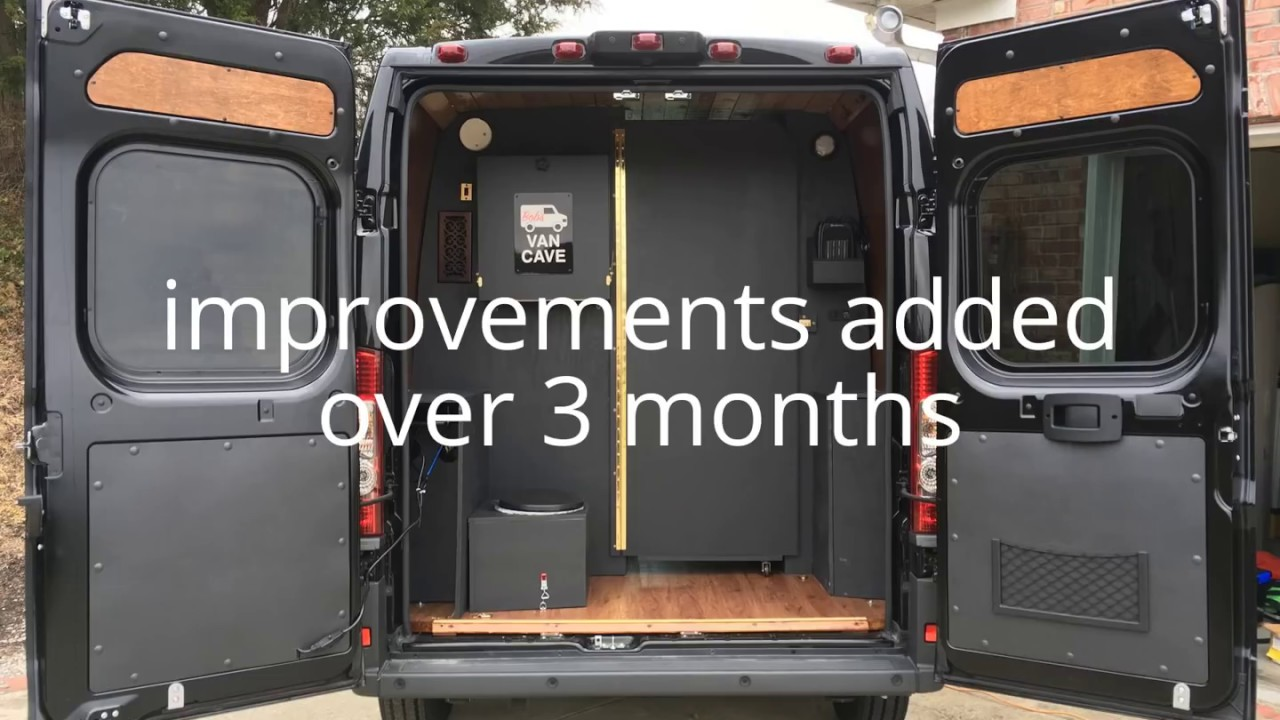 2017 Ram Promaster DIY Conversion - YouTube
