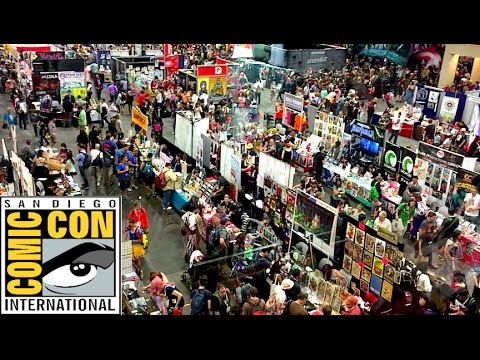 San Diego Comic Con 2015 Tour
