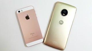iPhone SE vs Moto G5 Plus
