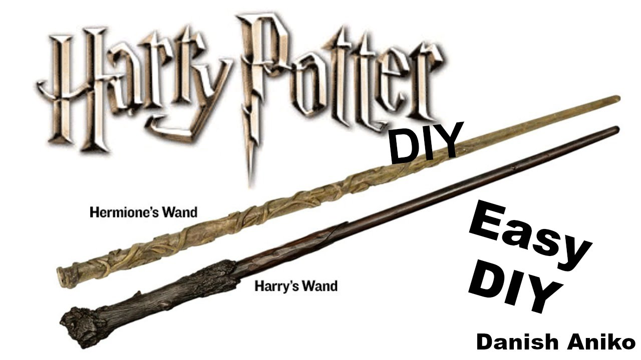 Diy Harry Potter Wands Easy And Fast Last Minute Halloween Costume