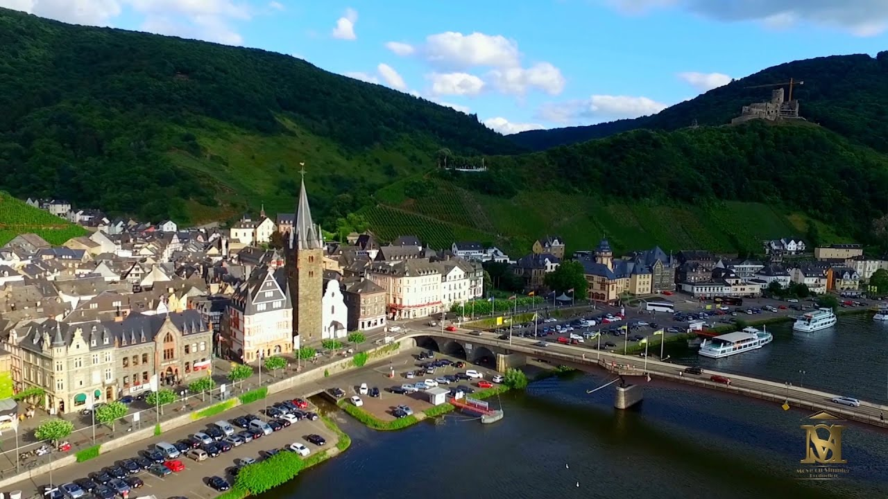 Bernkastel Kues, Rheinland Pfalz   Altstadt, Burg Landshut, Pfarrkirche   YouTube