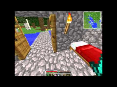 minecraft]presentation de ma maison en copani de jeremn - YouTube