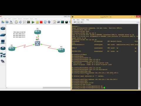 How to Configure ATM Switching on GNS3 (Persian)