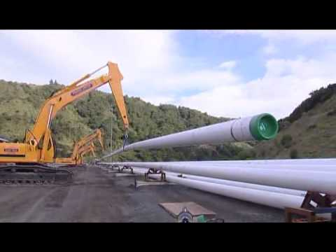 KUPE Gas Project Spoolbase Part 1 of 2