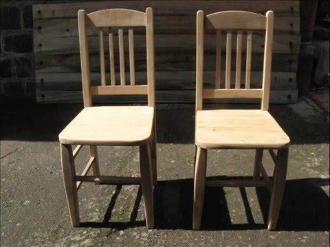 Restauraci n de sillas antiguas 0001 youtube - Restauracion de sillas ...