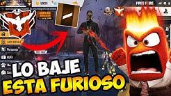 LE BAJO LA CUENTA DE HEROICO A BRONCE A MI AMIGO EN FREE FIRE!! BROMA PESADA! ASÍ REACCIONA!! jaja