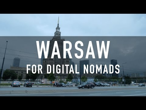 WARSAW FOR DIGITAL NOMADS | PRICES, COWORKING, CAFES & MORE