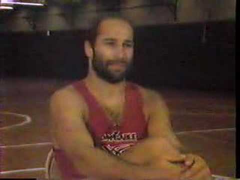 Dave Schultz Interview after 1984 Olympic Gold Medal Win