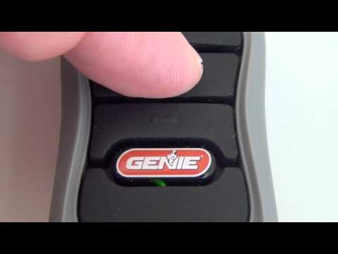 Genie G3t Bx Remote Control Youtube