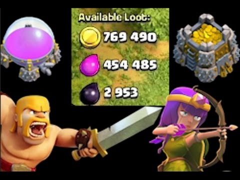 Clash of Clans I STEAL YOUR LOOT | REVENGE ME Barbarian + Archer ATTACK