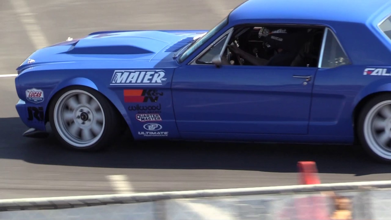 Roush Stage 3 >> Maier Racing's Ford Mustang's 1st-Run @ Good Guys Autocross: 11/13/2016 - YouTube