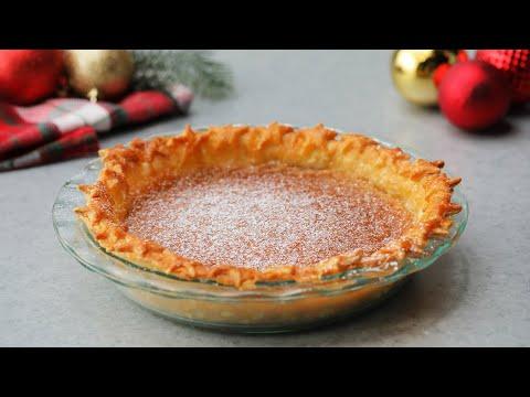 Eggnog Custard Pie // Presented by LG USA