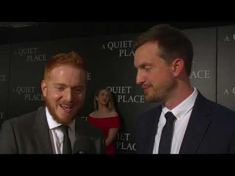 A Quiet Place    Scott Beck & Bryan Woods - Screenwriters NY Premiere Soundbites     SocialNews.XYZ