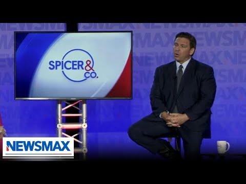 DeSantis praises Florida's STEM programs and goes Biden on immigration