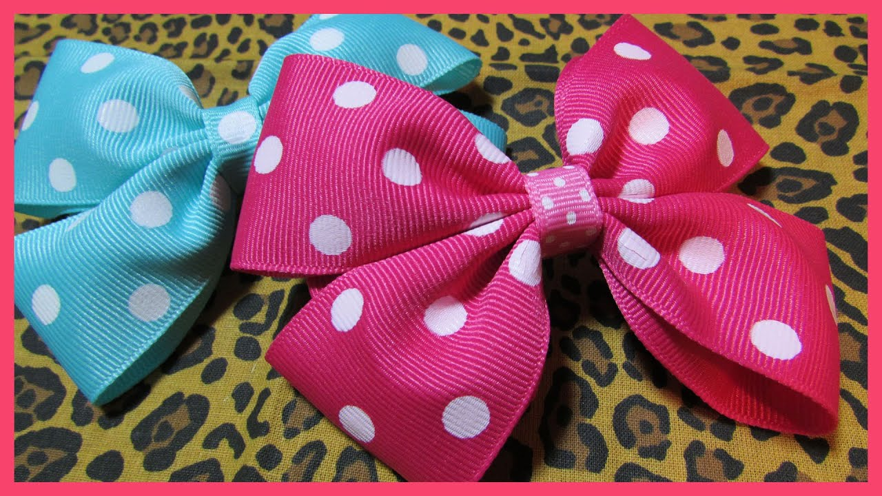 Diy how to make hair bows no2 free hair bow tutorial diy how to make hair bows no2 free hair bow tutorial boutique style with subtitles youtube baditri Image collections