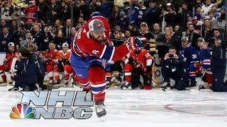 Shea Weber wins Hardest Shot competition | 2020 NHL All-Star Skills | NBC Sports