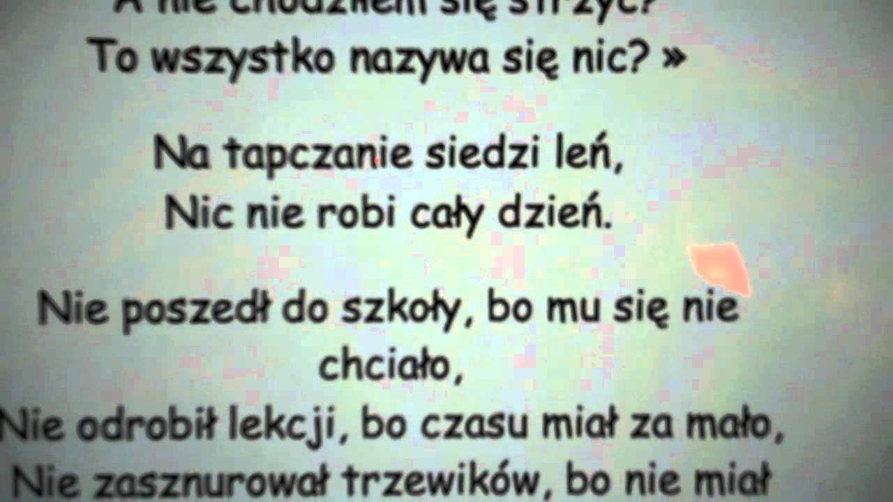 Leń By Jan Brzechwa