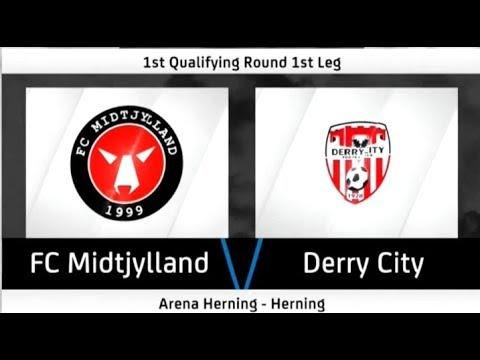 HIGHLIGHTS: FC Midtjylland 6-1 Derry City