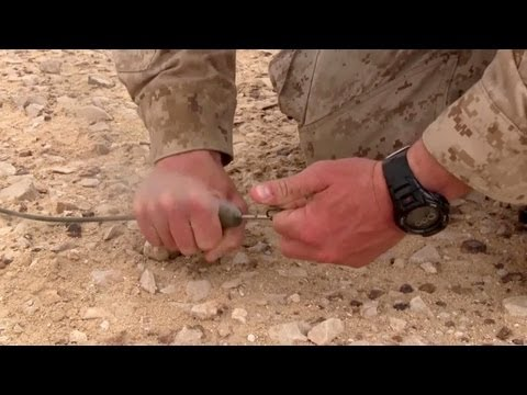 U.S. Marines Learn Explosive Demolition Techniques
