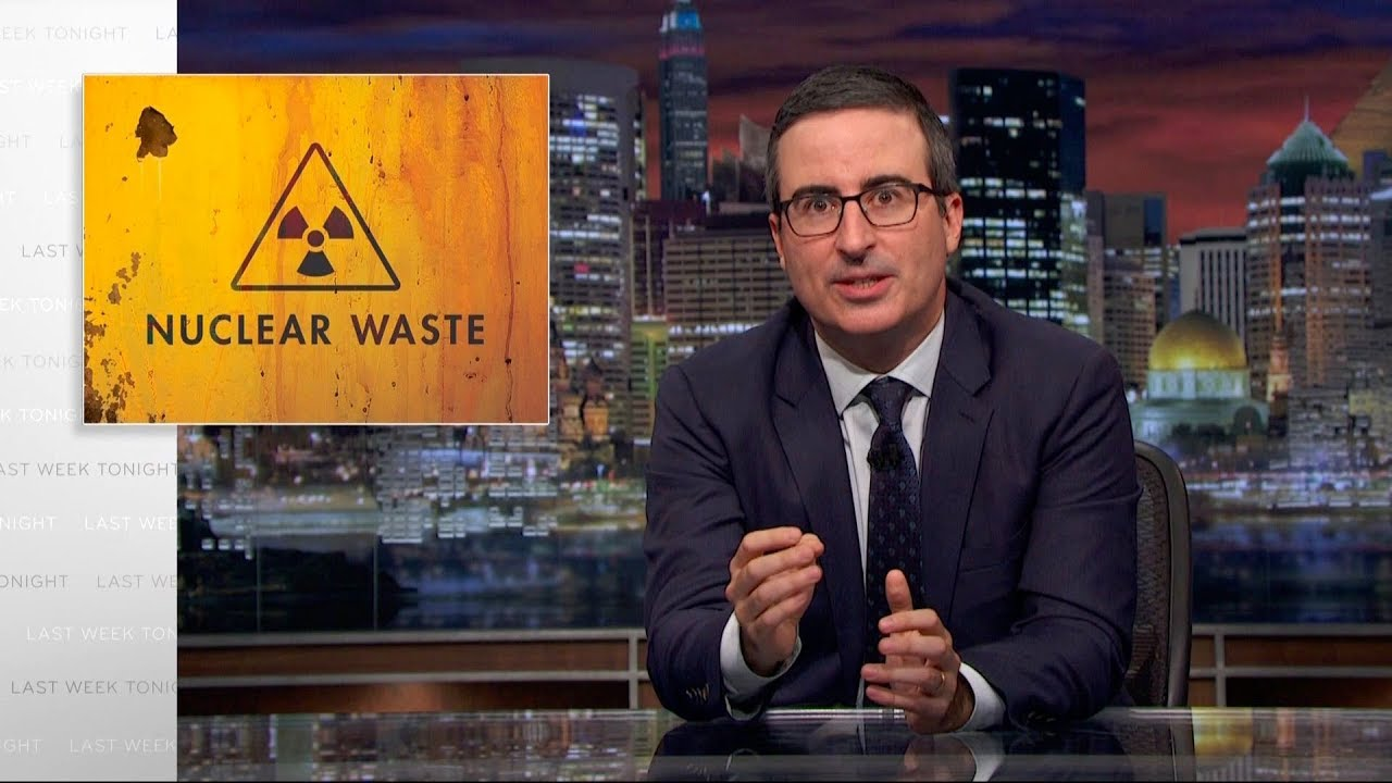 Nuclear Waste: Last Week Tonight with John Oliver (HBO) - YouTube