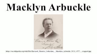 Macklyn Arbuckle