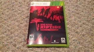 Dead Island Riptide: Special Edition Unboxing (Xbox 360)
