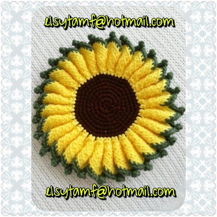 Girasol a crochet tutorial - YouTube
